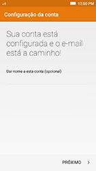 Lenovo Vibe K5 - Email - Como configurar seu celular para receber e enviar e-mails - Etapa 11