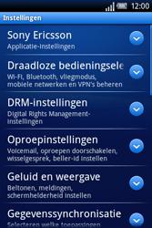 Sony Ericsson Xperia X8 - E-mail - handmatig instellen - Stap 8