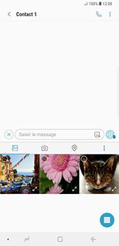 Samsung Galaxy Note9 - MMS - Envoi d