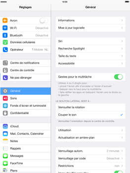 Apple iPad 4th generation iOS 7 - Wifi - configuration manuelle - Étape 2