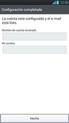 LG Optimus L9 - E-mail - Configurar correo electrónico - Paso 13
