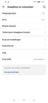 Huawei P30 Lite - Internet - mijn data verbinding delen - Stap 4