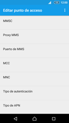 Sony Xperia Z5 - Mensajería - Configurar el equipo para mensajes multimedia - Paso 10