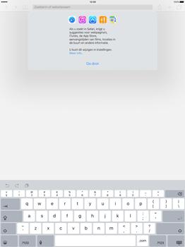 Apple iPad Pro - Internet - Internet gebruiken - Stap 4