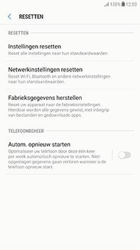 Samsung Galaxy J7 (2017) - Toestel reset - terugzetten naar fabrieksinstellingen - Stap 6