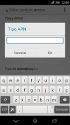 Sony Xperia E4G - Internet (APN) - Como configurar a internet do seu aparelho (APN Nextel) - Etapa 14