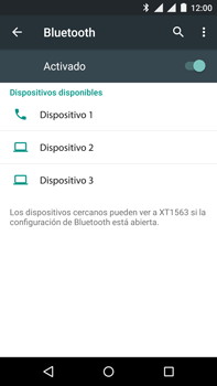 Motorola Moto X Play - Bluetooth - Conectar dispositivos a través de Bluetooth - Paso 6