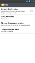 LG D505 Optimus F6 - SMS - Configuration manuelle - Étape 7