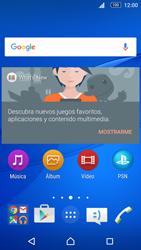 Sony Xperia M5 (E5603) - Internet - Ver uso de datos - Paso 1