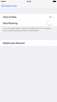Apple Apple iPhone 6 Plus iOS 10 - Network - Change networkmode - Step 6