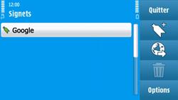Nokia N97 - Internet - Navigation sur Internet - Étape 9