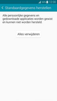 Samsung Galaxy Note 4 4G (SM-N910F) - Instellingen aanpassen - Fabrieksinstellingen terugzetten - Stap 7