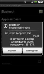 HTC A8181 Desire - Bluetooth - koppelen met ander apparaat - Stap 10