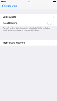 Apple iPhone 7 Plus - Internet - Disable data roaming - Step 6