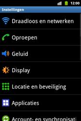 Samsung S5690 Galaxy Xcover - Buitenland - Bellen, sms en internet - Stap 4