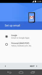 Huawei Ascend P6 LTE - E-mail - Manual configuration (gmail) - Step 9