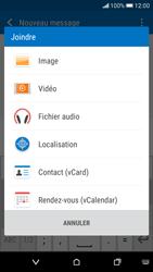 HTC Desire 626 - Contact, Appels, SMS/MMS - Envoyer un MMS - Étape 14