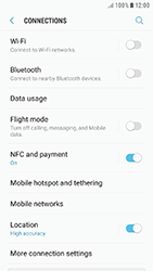 Samsung J530F Galaxy J5 (2017) - Internet - Enable or disable - Step 5