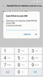 Samsung Galaxy J5 (2017) - Sécuriser votre mobile - Personnaliser le code PIN de votre carte SIM - Étape 9
