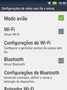 Motorola Master XT605 - Rede móvel - Como ativar e desativar o modo avião no seu aparelho - Etapa 6