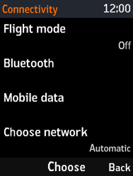 Nokia 3310 - Mms - Manual configuration - Step 5