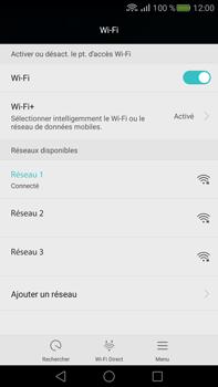 Huawei Mate S - Wifi - configuration manuelle - Étape 6