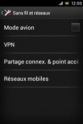 Sony C1505 Xperia E - Internet - Configuration manuelle - Étape 5
