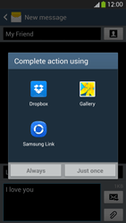 Samsung I9295 Galaxy S IV Active - MMS - Sending pictures - Step 14