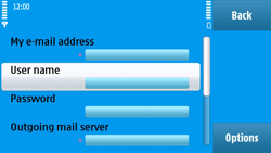 Nokia N97 - E-mail - Manual configuration - Step 27