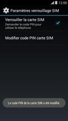 Bouygues Telecom Ultym 5 II - Sécuriser votre mobile - Personnaliser le code PIN de votre carte SIM - Étape 10