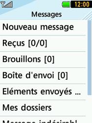 LG T580 - Contact, Appels, SMS/MMS - Envoyer un SMS - Étape 4