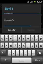 Sony Xperia E - WiFi - Conectarse a una red WiFi - Paso 7