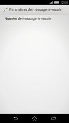 Sony Xperia Z2 (D6503) - Messagerie vocale - Configuration manuelle - Étape 10