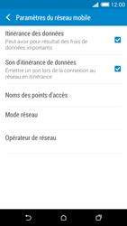 HTC Desire 816 - Aller plus loin - Désactiver les données à l'étranger - Étape 5