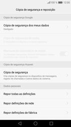 Huawei P9 Lite - Repor definições - Como repor definições de fábrica do telemóvel -  7