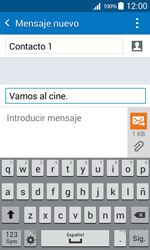 Samsung Galaxy Core Prime - Mensajería - Escribir y enviar un mensaje multimedia - Paso 12
