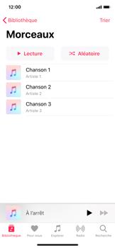 Apple iPhone XS - iOS 12 - Photos, vidéos, musique - Ecouter de la musique - Étape 5