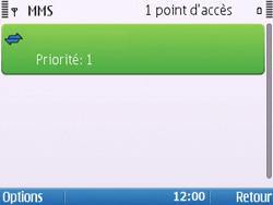 Nokia E5-00 - Mms - Configuration manuelle - Étape 12
