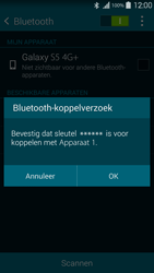Samsung G901F Galaxy S5 4G+ - Bluetooth - Headset, carkit verbinding - Stap 7