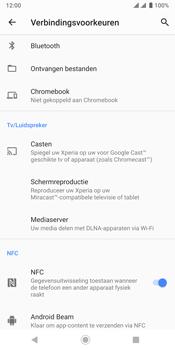 Sony xperia-xz3-dual-sim-model-h9438 - NFC - NFC activeren - Stap 7