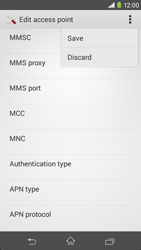 Sony D2303 Xperia M2 - Mms - Manual configuration - Step 15