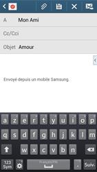 Samsung G386F Galaxy Core LTE - E-mail - envoyer un e-mail - Étape 8