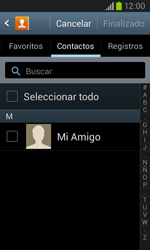Samsung i8260 Galaxy Core - E-mail - Escribir y enviar un correo electrónico - Paso 6