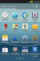 Samsung S6310 Galaxy Young - Internet - Navigation sur Internet - Étape 2