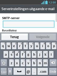 LG E430 Optimus L3 II - E-mail - e-mail instellen: IMAP (aanbevolen) - Stap 14