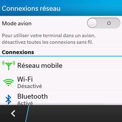 BlackBerry Q10 - Réseau - utilisation à l'étranger - Étape 8