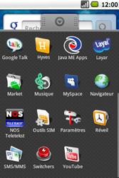 Samsung I5700 Galaxy Spica - SMS - Configuration manuelle - Étape 3