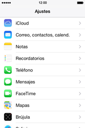 Apple iPhone 4S iOS 7 - E-mail - Configurar Gmail - Paso 3