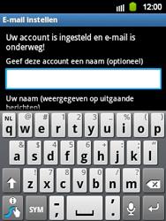 Samsung S5360 Galaxy Y - E-mail - e-mail instellen: IMAP (aanbevolen) - Stap 19