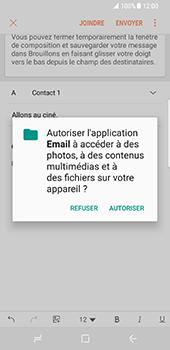 Samsung Galaxy S8 - E-mails - Envoyer un e-mail - Étape 12